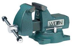 Изображение Тиски Механик поворотные чугунные, ширина губок 125мм WILTON WI21400 Америка