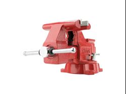Изображение Тиски красные Heavy duty для мастерских ширина губок 150мм WILTON WI00191 Америка