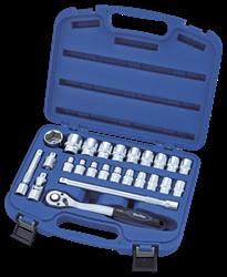 """Изображение Набор ключей 1/2"""" (8-32мм) 25пр. код 10-4250-5"""