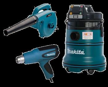 Изображение для категории Воздуходувки и пылесосы Makita 220В