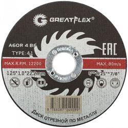 Изображение отрезной диск d125х1.0 Master T41 (сталь) GREATFLEX 50-41-002 Китай