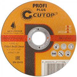 Изображение отрезной диск d125х1.0 Profi Plus T41 (сталь, нерж.) CUTOP 40003т Китай