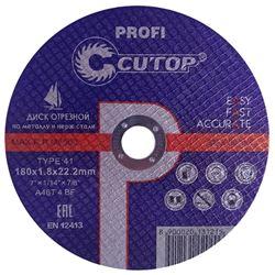 Изображение отрезной диск d180х1.8 Profi T41 (сталь) CUTOP 39990т Китай